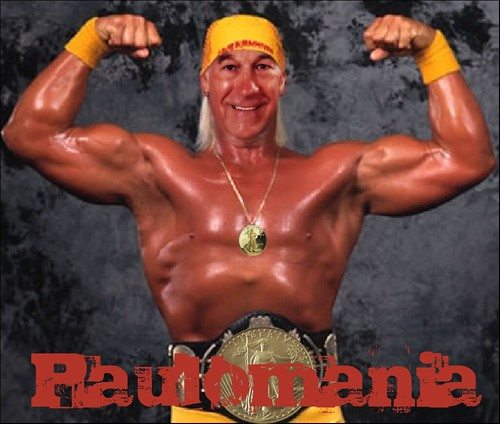 RON PAUL WRESTLEUTION by Colonel Flick