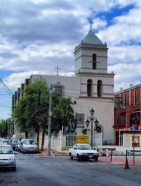 Iglesia en Guadalupe Nuevo León