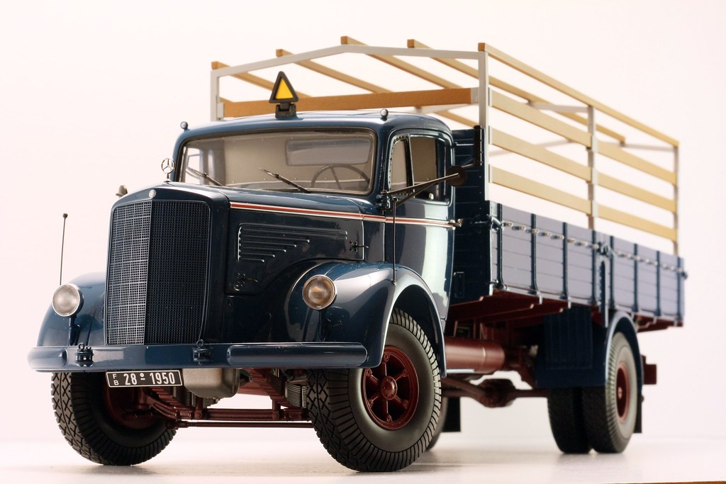 1 18 Minichamps Mercedes L6600 Truck With Trailer Dx Trucks Suv