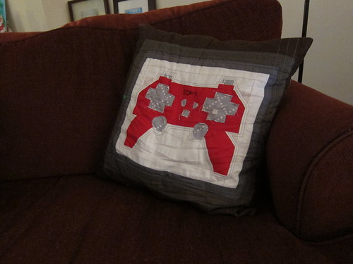 Playstation Remote Pillow