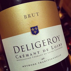 NV Deligeroy Cremant de Loire Brut