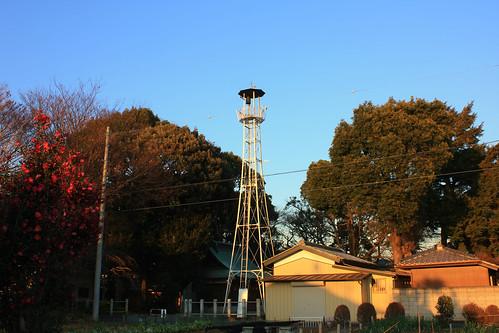 大宮本郷の火の見櫓(さいたま市北区)