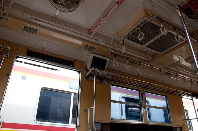 KAI Seri5000 元東京メトロ 東西線5000系 66F 車内