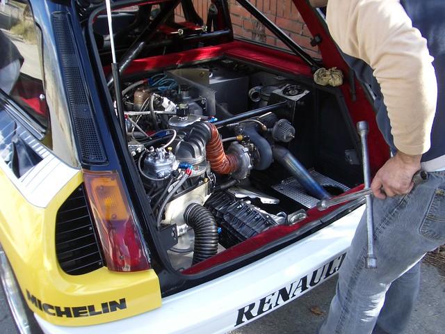 renault 5 turbo 2 engine shot flickr photo sharing. Black Bedroom Furniture Sets. Home Design Ideas