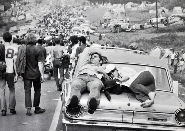 1969 Woodstock Festival in New York State, USA