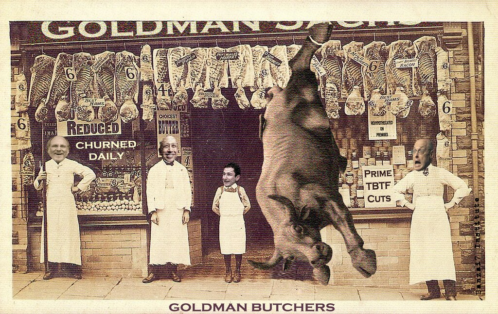 GOLDMAN BUTCHERS