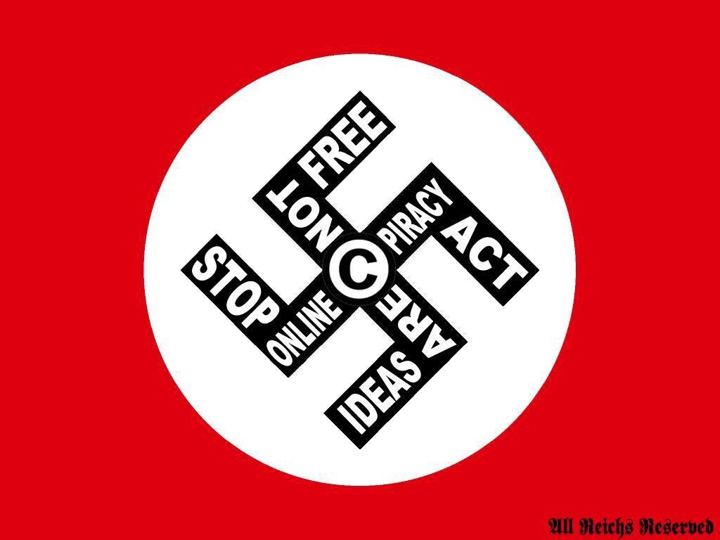 SOPA FLAG