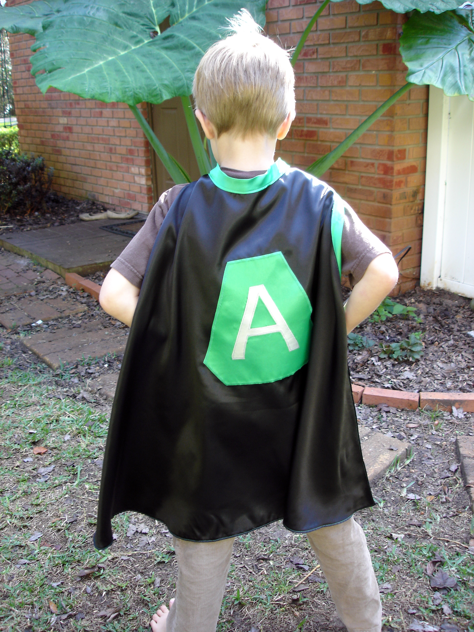 superhero cape back