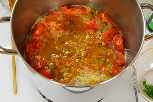 Bun Rieu - Vietnamese Crab and Tomato Soup