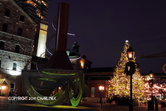 Distillery District Holiday Night by Charlinex