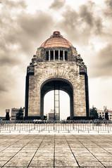 Monumento a la Revolución, Mexico City HDR