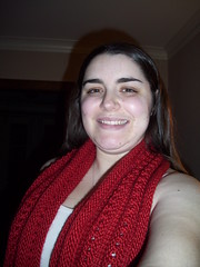 Christmas Cowl unwrapped