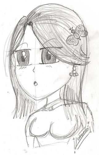 Manga Girl by Giuseppe Lombardi