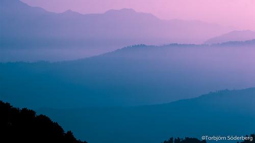 morning pakistan mist sunrise canon k2