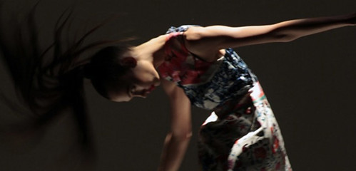Mary Katrantzou x topshop modelled by Karlie Kloss for SHOWstudio