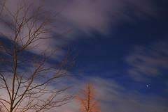 Venus at sunset, Jan. 7, 2012