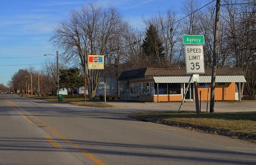 highway silent memories iowa agency roadside smalltown us34 bypassed wapellocounty