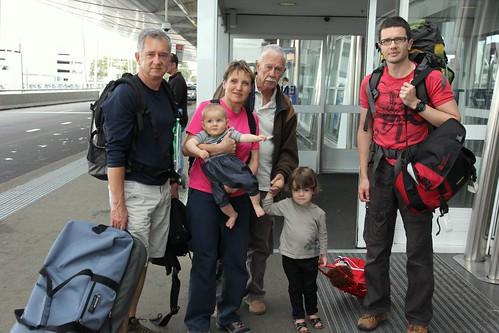 Depart pour la Tasmanie