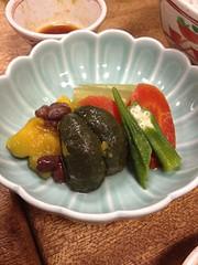 野菜の炊き合わせ @明治屋