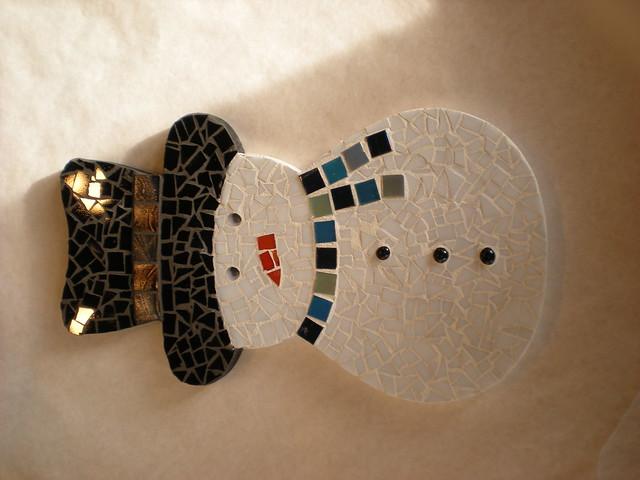 snowman mosaic flickr photo