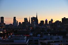 Montréal au crépuscule