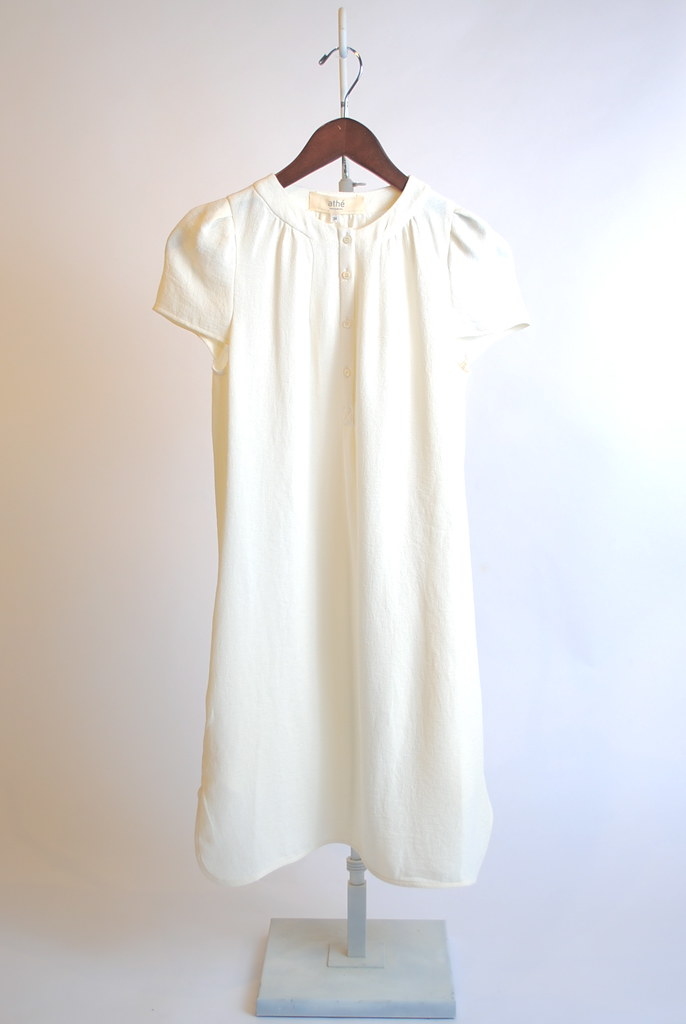 Crepe Henley Dress