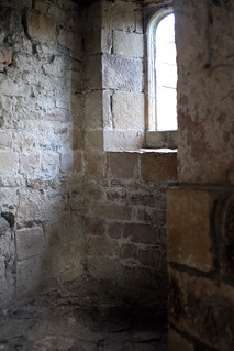 skipton castle upper interior window 3