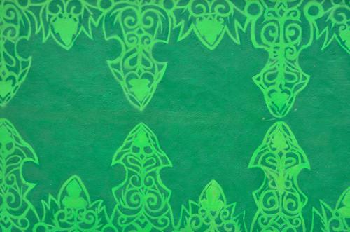 Green (mural) house