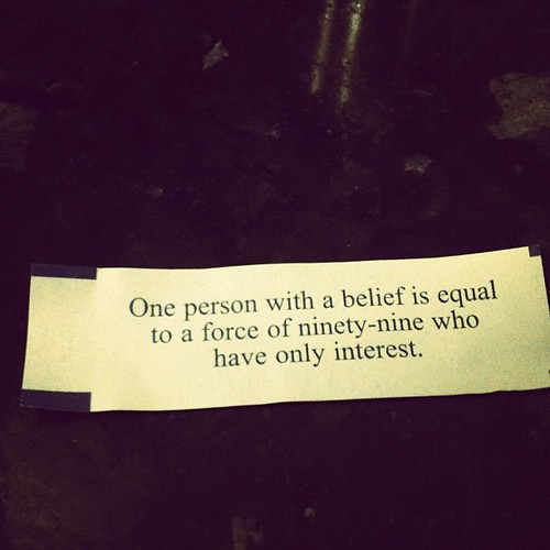 My fortune cookie... by seanclaes