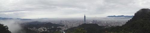 台北全景照@拇指山