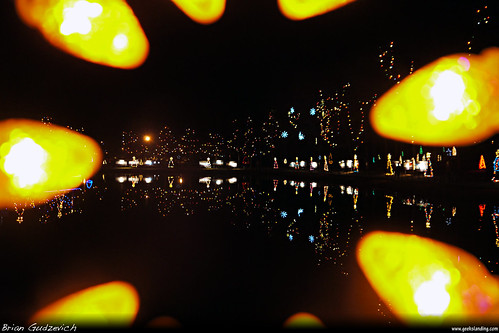 christmas holiday reflection colors ma lights pond shrine massachusetts bulbs mass attleboro lasalette dmcg10