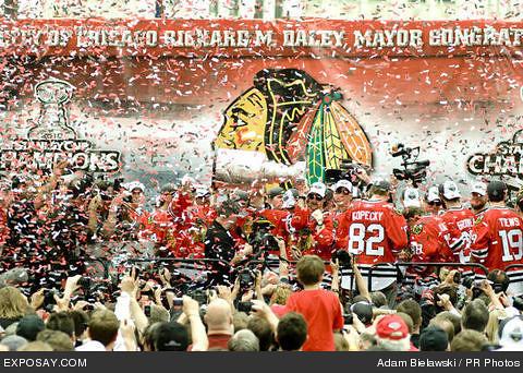 hawks cup celebration