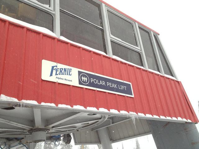 Fernie Polar Peak Chair