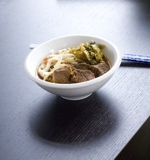 Taiwanese Beef Noodle Soup 5