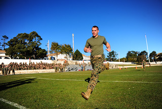 Marine Corps Field Meet competition