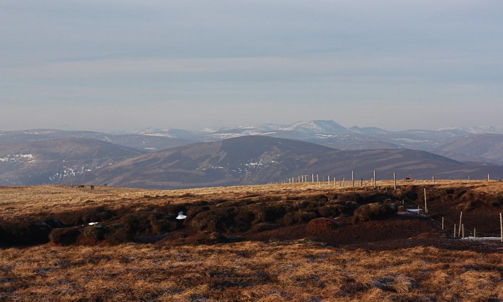 Towards Lochnagar from the Hill of Wirren