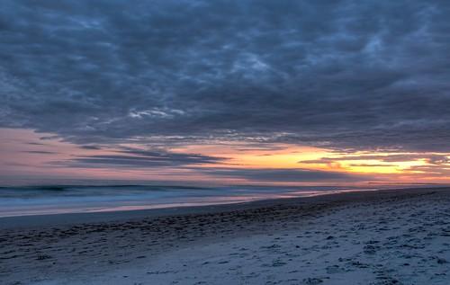 ocean sunset beach clouds landscape nikon raw northcarolina wilmington hdr topaz adjust 18105 d90 blinkagain
