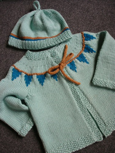 Baby bunting + hat