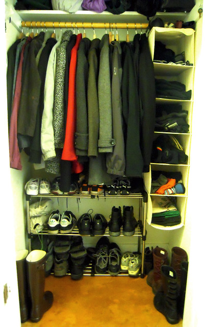 Cleaned Coat Closet
