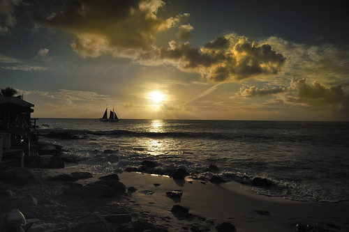 sunset sea sky cloud beach sand nikon yacht 24120vr saintmaarten d700