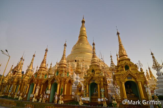 Shewedagon at Dusk
