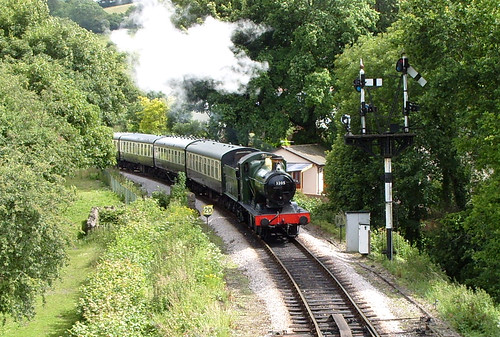 Approaching Buckfastleigh 2