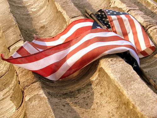 Flag on the Tomb of the Unknown Civil War Soldier - Franklin, TN
