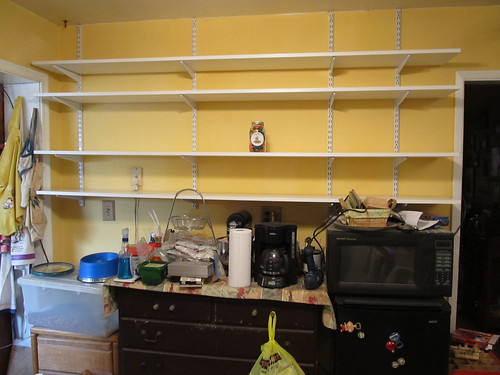 During - shelves