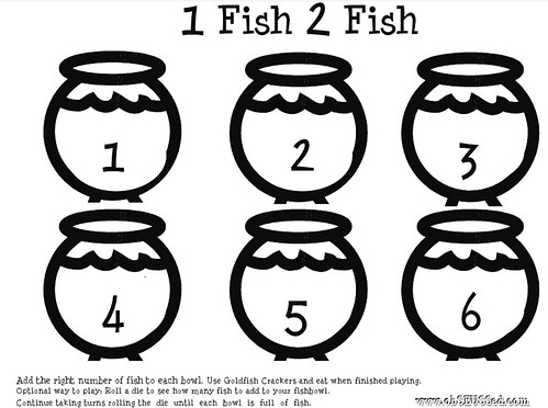 Universal image with one fish two fish printable