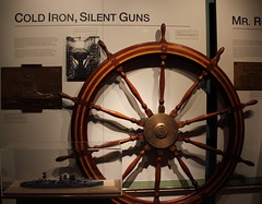 USS West Virginia Wheel HRNM