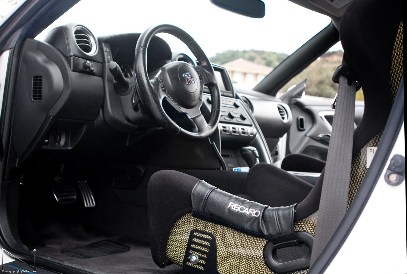 Steve's GT-R R35 Interior