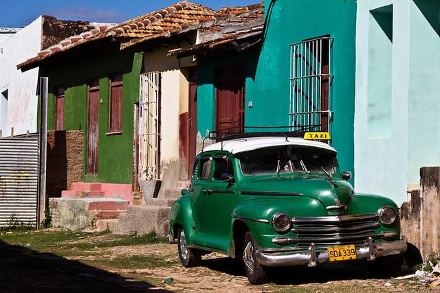 Green Plymouth in Trinidad, par Franck Vervial