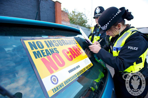 West Midlands Police seizing uninsured and illegal vehicles