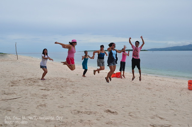 Jumpshot at Sta. Cruz Island